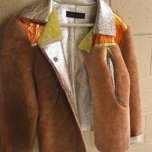 Zara statement jacket